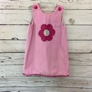 Zucchini Corduroy Pink Jumper Dress